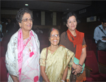 Usha Pandit with others