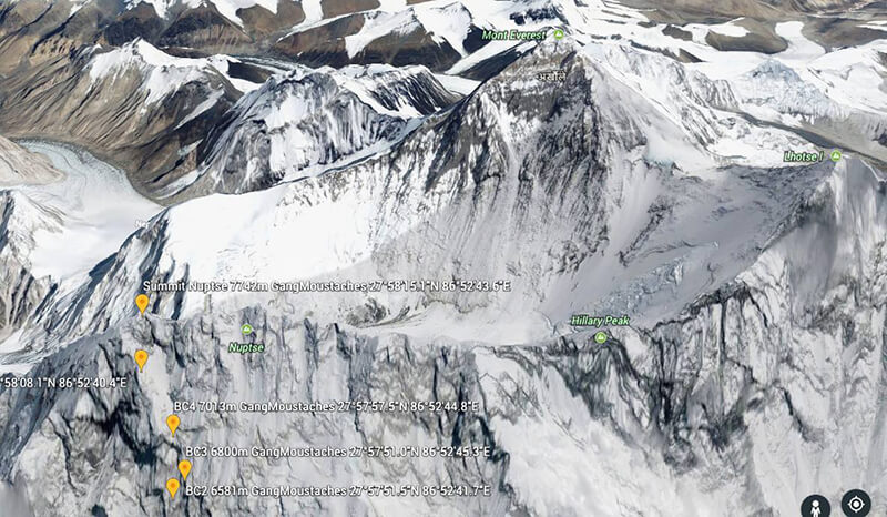 64d3018e44 ... (US) attempted a new route on the Cobweb Wall of South Face of Nuptse.  They abandoned the expedition due to difficult route and snow conditions.   Alpine ...