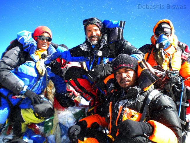 the summit team mt everest expedition