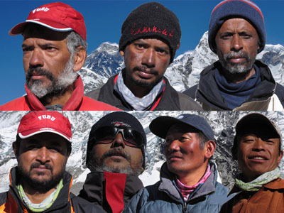 team members mt everest expedition