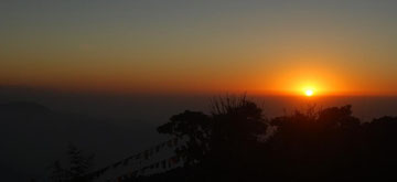 Sunrise at Tiger Hill
